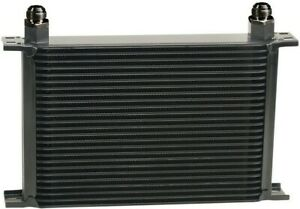 25 Row Performance Engine Transmission Oil Cooler Kit Heavy Duty Stacked Plate