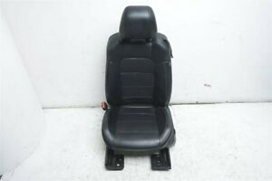 15 19 Ford Mustang Coupe Front Driver Seat Black Leather Perforated Sport
