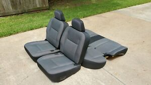 2003 2011 Crown Victoria P71 Police Seats Mint Like New Non airbag