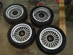 Genuine 15 Alpina Wheels Set Of Four 7jx15h The Real Deal