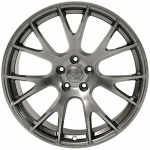 Hyper Black 22 Replacement Wheel Dodge Charger Challenger 2006 2019