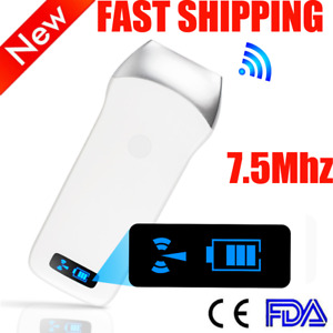 Portable Wireless Wifi Ultrasound Scanner Linear Array Probe Ios android windows
