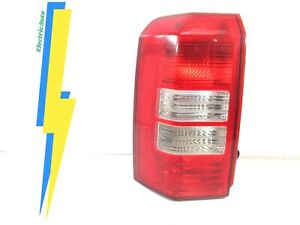 Chipped Lens 2008 2012 Jeep Liberty Rear Tail Light Left Driver Oem
