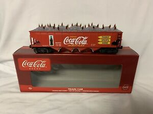 ✅K-LINE BY LIONEL DIE CAST COCA COLA HOPPER CAR W/ ICE & BOTTLE LOAD! COKE TRAIN
