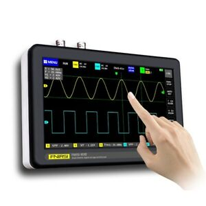 1gb 7 Inch Touch Screen 2 channel Digital Oscilloscopes 100mhz Bandwidth 1gs s