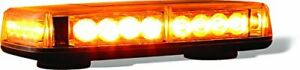 Buyers Products 8891040 Magnetic Amber 11 X 6 5 X 2 25 12v Dc Led Light Bar