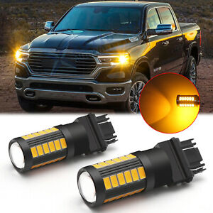 For Dodge Ram 1500 2500 3500 3000k Amber 5630 Smd Bright Led Turn Signal Light