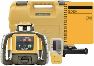 Topcon Rl h5a Self Leveling Horizontal Rotary Laser With Bonus Eden Field Book