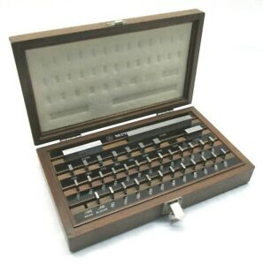 Mitutoyo 100 To 4 35 piece Inspection Gage Block Set 516 915 be1 35 3