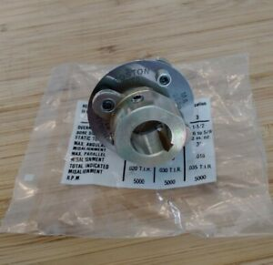 New Rembrandt Flex mite Series 3 Motor Coupler 1 1 2 Overall Diameter 1 2 Bore