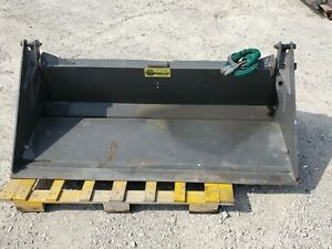 Unused 78 Heavy Duty 4 In 1 Bucket Skid Steer Attachment Cid Prowler Usa Made