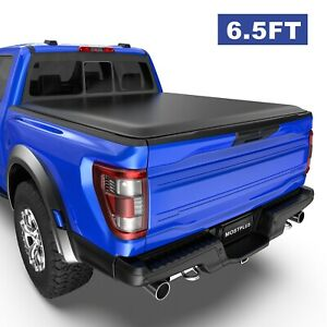 4 Fold 6 5 Truck Bed Tonneau Cover For Dodge Ram 1500 2500 3500 Led Lamp