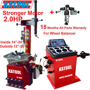 Katool Tire Changer Wheel Balancer Combo 2 0hp Motor With Motorcycle Clamping