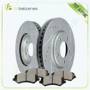 Front Brake Pads And Rotors For Dodge Grand Caravan Chrysler Town country