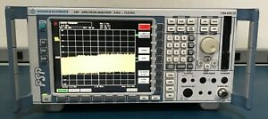 Rohde Schwarz Fsp13 K5 k73 b15 k73 Spectrum Analyzer Fsp 9 Khz 13 6 Ghz Tested