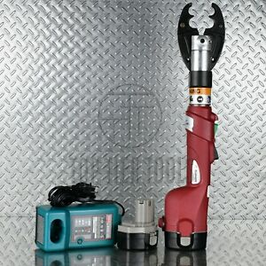 Burndy Patmd6 14v Battery operated 6 Ton Hydraulic Crimping Tool Md6
