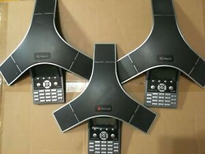 Polycom Soundstation Ip 7000 Handsfree Voip Conference Telephone Poe tested