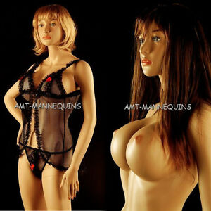 Female Mannequin stand Full Body Sexy Girl Handmade Damaged Manikin 1wig