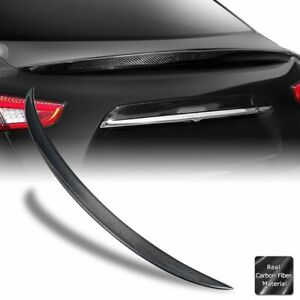 Real Carbon Fiber Trunk Spoiler Wing For 14 21 Maserati M157 Ghibli Oe Style