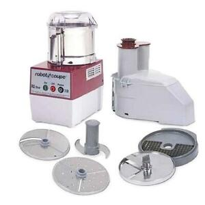 Robot Coupe R2dice Ultra 3 Qt Commercial Food Processor