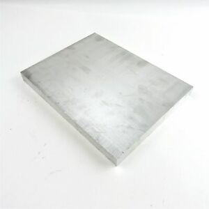1 Thick Aluminum 6061 Plate 8 75 X 12 875 Long Sku 176205