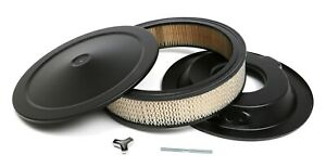Trans dapt Performance Products 8640 Asphalt Black Air Cleaner Muscle Car Style