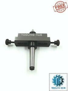 Lathe Tailstock Taper Turning Attachment 2 Piece Combo In 2mt 3mt Shank Size