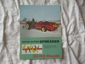 New Holland Pipsaw action Manure Spreader Brochure
