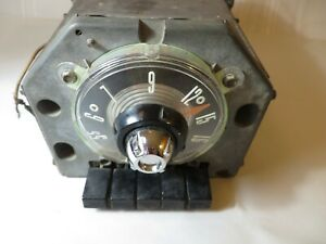 1955 Ford Motor Co Dash Radio For Crown Vic Fairlane Skyliner