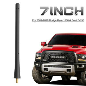 For 2009 2019 Dodge Ram 1500 Ford F 150 F 250 F 350 7 Rubber Signal Antenna Usa