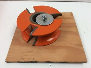 Freeborn Tool Carbide Tipped Shaper Cutter Half Round Concave 1 1 4 Bore