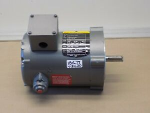 New Old Stock Baldor 5hp 1 2 Hp Electric Motor 208 230 460v 1700rpm 56c 3ph