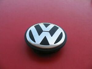 Vw Jetta Passat Golf Beetle 1 Wheel Rim Hub Cap Hubcap Center Cover Plug 65