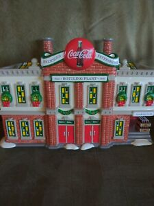 DEPT 56 SNOW VILLAGE COCA-COLA® BRAND BOTTLING PLANT 54690