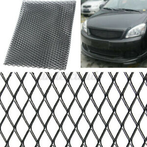 40 x13 Black Universal Aluminum Car Vehicle Body Grille Net Mesh Grill Section