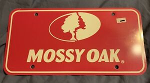 New Pink Mossy Oak License Plate Car Tag