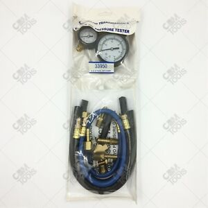 Tool Aid 33950 Fuel Injection Pressure Tester With 2 Gauges