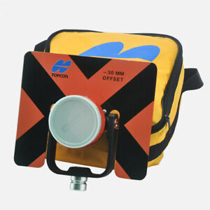 New Orange Single Prism For Total Stations Surveying 5 8x11 Female Thread Consta