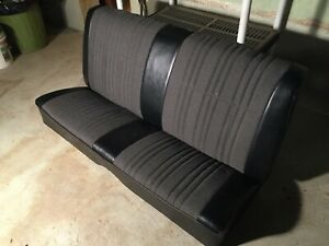1966 Gm A Body Lemans Gto Chevelle Coupe Rear Seat Covers Used
