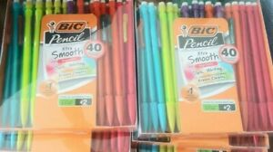 Bic Mechanical Pencils Xtra Smooth Dark Writing Erases Clean 240 Count