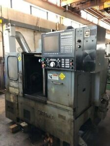 Okuma Lb10 Cnc Lathe With With Osp5000l g Control With New Monitor Michigan