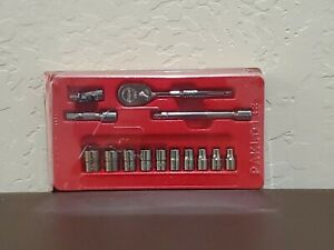 Snap On Tools 14 Pc General Service Set 1 4 Drive 114atmp