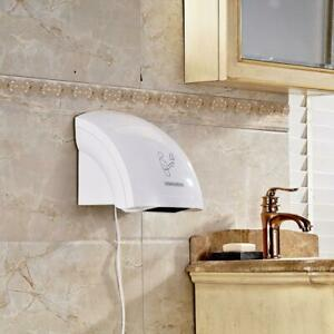 Automatic Infared Hand Dryer Sensor Household Hotel Commercial Restroom 1800 W