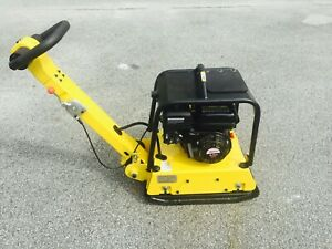 Cormac Reversible Plate Compactor C135r Gasoline Engine 6 5hp Weight 320lb