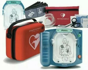 Philips Heartstart Onsite Aed Defibrillator M5066a Carry Case