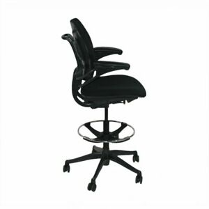 Was 985gbp Now 399 Gbp Humanscale Freedom Low Back Draughtsman Chair