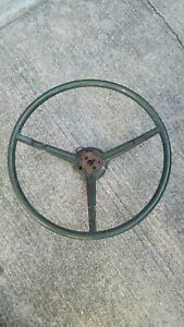 1970 B body Green Steering Wheel Mopar Superbee Charger Coronet Roadrunner Gtx