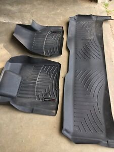 2016 Weather Tech Floor Mats F250 F350 450 Ford Crew Cab Superduty Front