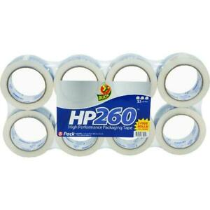 Duck Hp260 1 88 In X 60 Yd Packing Tape Clear 8 count