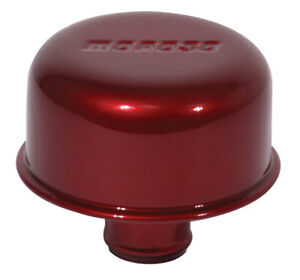 Moroso Breather Valve Cover Push In Style Red 68718
